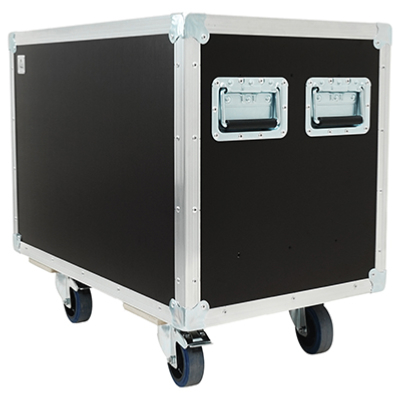 FLIGHT CASE MALLE DE TRANSPORT (600 x 400 x 400)