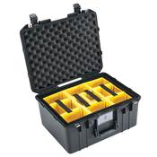 VALISE PELI AIR 1557 + KIT CLOISONS + MOUSSE ALVEOLEE