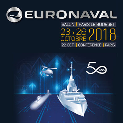 Présence de Cirra Packaging au salon EURONAVAL 2018