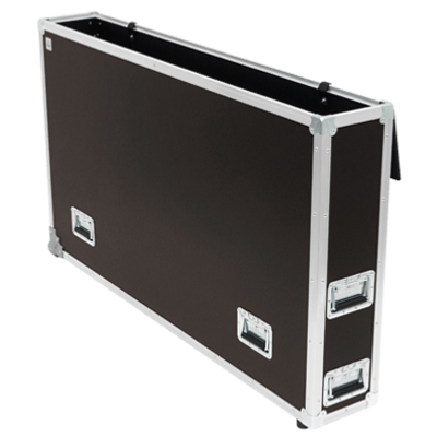 FLIGHT CASE 2 ROULETTES D'ANGLES 1 LCD (1031-1350 x 60 x 750 m)