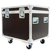 FLIGHT CASE MALLE DE TRANSPORT (800 x 600 x 600)