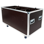 FLIGHT CASE MALLE DE TRANSPORT (800 x 400 x 400)