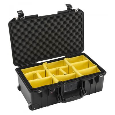 VALISE PELI AIR 1535 + KIT CLOISONS + MOUSSE ALVEOLEE