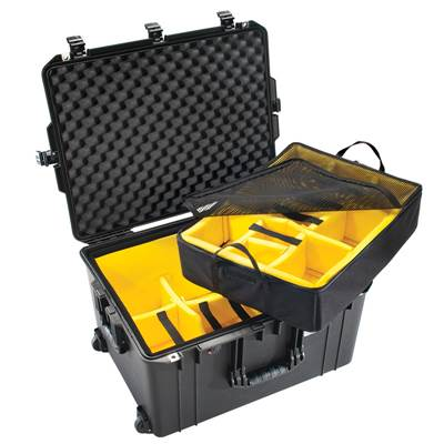 VALISE PELI AIR 1637 + KIT CLOISONS + MOUSSE ALVEOLEE